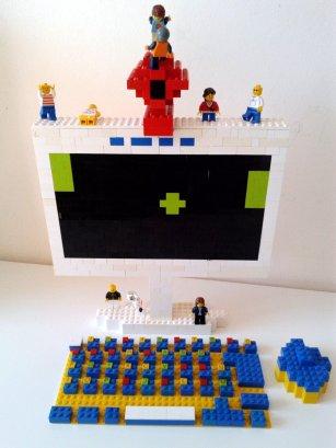 Computador de lego /criatividade