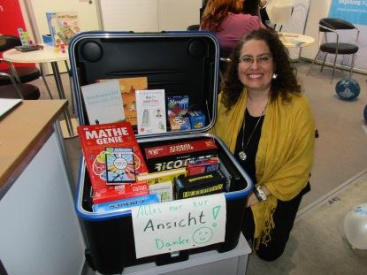 """Programa """"A mala inteligente"""" para o esclarecimento do tema Superdotação em escolas pela Mensa alemã"""