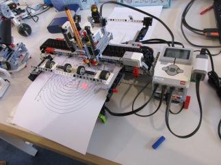 impressora de LEGO